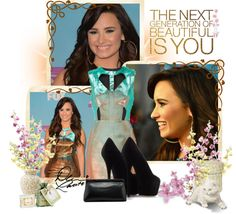 """""""Demi"""" by bokilly91 ❤ liked on Polyvore"""