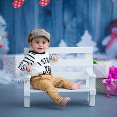 6 Month Baby Picture Ideas Boy, Baby Boy Pictures, Baby Photos, 1st Birthday Photoshoot, Baby Boy 1st Birthday, Toddler Photography Poses, Children Photography, Foto Newborn, Cute Baby Wallpaper