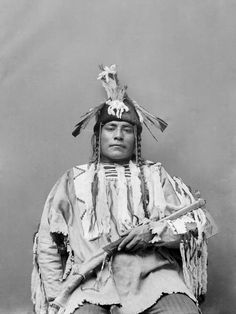 Little Bear Chief - Blackfoot 1893