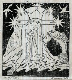 Arnošt Hrabal: Svatý Jan Nepomucký (Saint John of Nepomuk), 1958