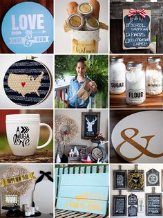 One day I will own a Silhouette so that I can make beautiful projects like these from Whipperberry | Pre-Black Friday Silhouette CAMEO Giveaway