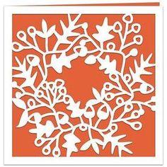 Silhouette Design Store - View Design #53179: twig wreath