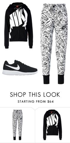 """NIKE"" by myajane04 on Polyvore featuring NIKE"