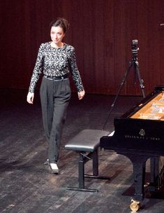 Yulianna Avdeeva in Wetzikon ZH, (series © 2018 by Rolf Kyburz. All rights reserved) B Minor, Piano Recital, Series 3, Concerts, Suits, Music, Fashion, Musica, Moda