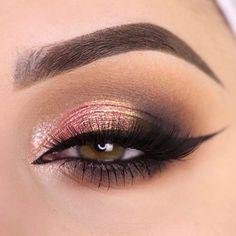 Juega con los colores de tus sombras favoritas #MakeupGeek #Eye #Shadows #Sombras