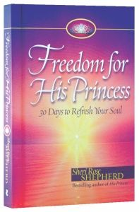 "In Freedom for His Princess, Sheri Rose lovingly guides you beyond coping mechanisms and into true freedom in Christ. In just 30 days, she will show you how to embrace life's battles with an eternal perspective. Each day's reading includes an opening Scripture, a devotion, an application called Bible Life Coaching, a love letter from God, and a closing ""treasure of truth.""    You can achieve true freedom and peace of mind. Sheri Rose is here to help."