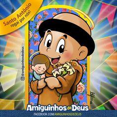 desenho de santo antônio