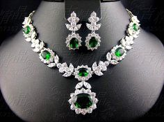 Online Shop Luxury handmade necklace ,earring wedding jewelry set ,perfect for dinner party/bridal gown/ wedding dress Emerald Jewelry, Diamond Jewelry, Silver Jewellery, Turquoise Jewelry, Pearl Jewelry, Wedding Jewelry Sets, Bridal Jewelry, Jewelry Accessories, Jewelry Design