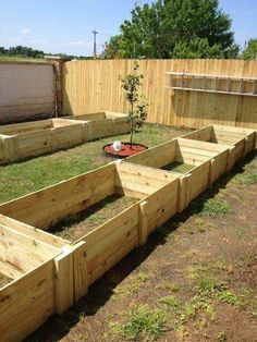 Planting on raised garden beds brings many benefits compared to planting on the ground. But the most crucial one is you can grow a garden even in a Raised Garden Bed Plans, Raised Bed Garden Design, Building Raised Garden Beds, Raised Beds, Raised Vegetable Gardens, Vegetable Garden Design, Veg Garden, Garden Pond, Easy Garden