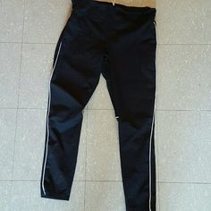 Joe Fresh Work out leggings worn once , like new , comfy , helps prevent excessive sweating through clothes when working out   willing to negotiate! Joe Fresh Pants