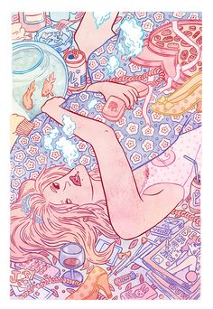 Kirsten Rothbart: Illustration