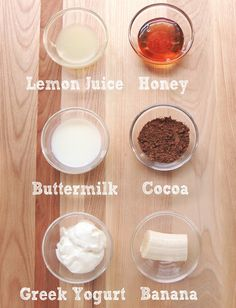 10 Natural, Homemade Face Masks.  Just tried greek yogurt, green clay, cocoa, cinnamon, and honey and got glowing skin :)