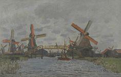 Molens bij Zaandam - Van Gogh Museum