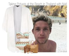 """""""Travel Tag~ Taking Pictures at the Beach in Thailand with Niall"""" by elise-22 ❤ liked on Polyvore featuring Boohoo, Victoria Beckham, Billabong, Linda Farrow Luxe and country"""