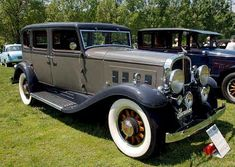 1932 Franklin 163 Oxford Automobile