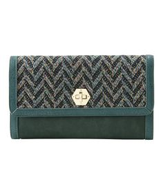 Take a look at this Emerald Dana Clutch by Shiraleah on #zulily today!