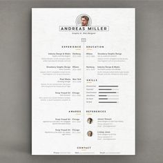 Best Resume by sz81 on Creative Market