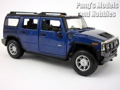 Hummer H2 2003 Diecast Metal 1/27 Model by Maisto