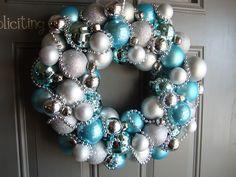 Pretty winter wreath