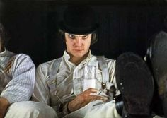 """""""Come and get one in the yarbles, if you have any yarbles, ya eunuch jelly thou!"""" Alex DeLarge, A Clockwork Orange"""