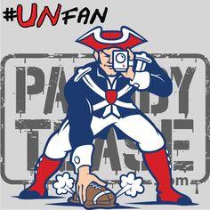 Funny Patriots Parody Logo #UNfan #Jets #Patriots #Bills #Dolphins #NFL #ParodyTease #memes