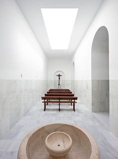pablo millán designs chapel of the blessed sacrament in seville