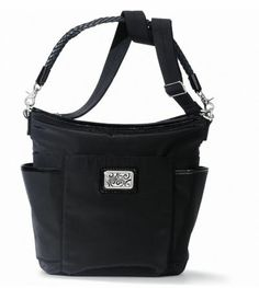 Corey Pocket Hobo, Black. $230