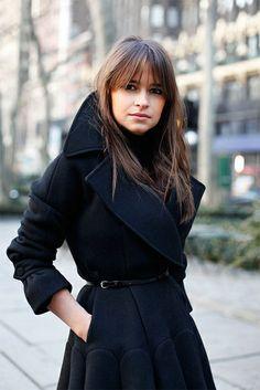 Ahhh! This coat. {fashion inspiration   style icon : miroslava duma}, via Flickr.