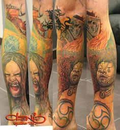SEPULTURA tattoo.