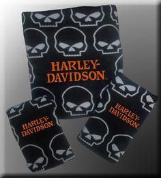 High Quality Harley Davidson® Skull Bath Set 05986