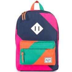 Herschel Heritage Kids Backpack, Multi Stripes