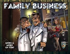 Best card game ever!  Eliminate the families before they eliminate  you, great Mafia Family Fun!