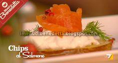 Chips di Salmone di Benedetta Parodi