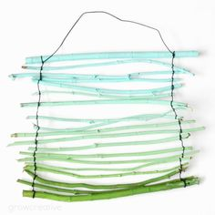 Ombre Twig Wall Hanging