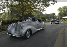 1938 Horch 853 A Erdmann & Rossi Roadster at the Glenmoor Gathering of Significant Automobiles