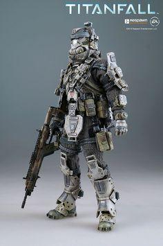 threezero 1/12 Titanfall Pilot