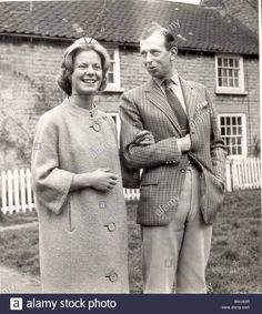 duke-of-kent-in-casual-sports-clothes-pictured-with-fiancee-katherine-BWJ43R.jpg (1157×1390)