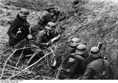 German reconnaissance unit. 	January 1942