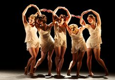 National Dance Company Wales in Christopher Bruce's Dream. Photograph by Andrew Ross.