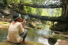 10 Amazing Places to Visit in India that Aren't the Taj Mahal ~Meghalaya, the wettest place on the planet