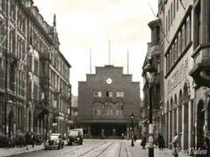 Damals in Offenbach- Kaiserstrasse mit Blick zum Bahnhof