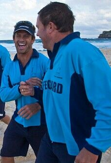 Best smile and most funny, bondi rescue