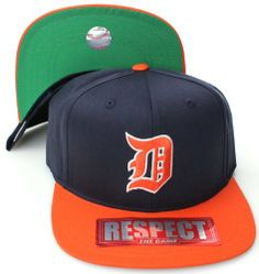 7b5dca5c7c41f Detroit Tigers AN 2 Tone Retro Snapback Cap Hat by American Needle.  10.04.  Brand new retro snapback cap. American Needle Embroidered team logos.