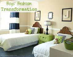 "DIY On the Cheap: ""Big Boy Room"" Transformation Reveal"