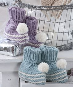 Free! - Baby booties