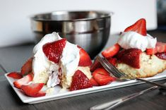 6. Strawberry Shortcake For Two