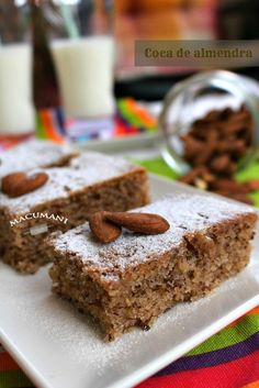 Choco Chocolate, Almond Cakes, Sin Gluten, Gluten Free, Desert Recipes, Yummy Cakes, Cooking Time, Banana Bread, Cupcake Cakes