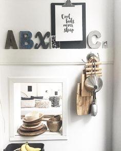 ..cool kids never sleep they drown in coffee .. #interior #interiør #interior4all #interior123 #interiordesign #inredning #kitchen #keuken #kök #details #words #industrial #raw #wood #white #black #grey #living #simple #boho #light #art #coffee #goodmorning #rotterdam by gianinni80