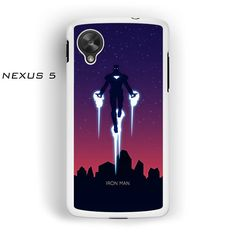 IronMan Flying Up AR for Nexus 4/ Nexus 5 phonecase