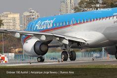 "Embraer 190 Austral | Aeropuerto Internacional ""Jorge Newery"" | Buenos Aires, Argentina"